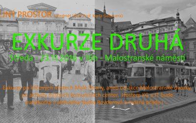 EXKURZE DRUHÁ – v rámci předmětu VŠUP Praha