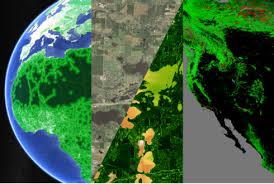 Nová aplikace Google: 1984 – 2016 ze satelitu…