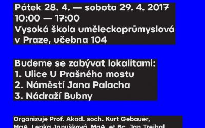 WORKSHOP na UMPRUM Praha !