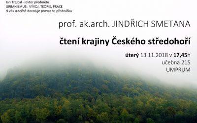 UMPRUM: Jindřich Smetana – čtení krajiny…